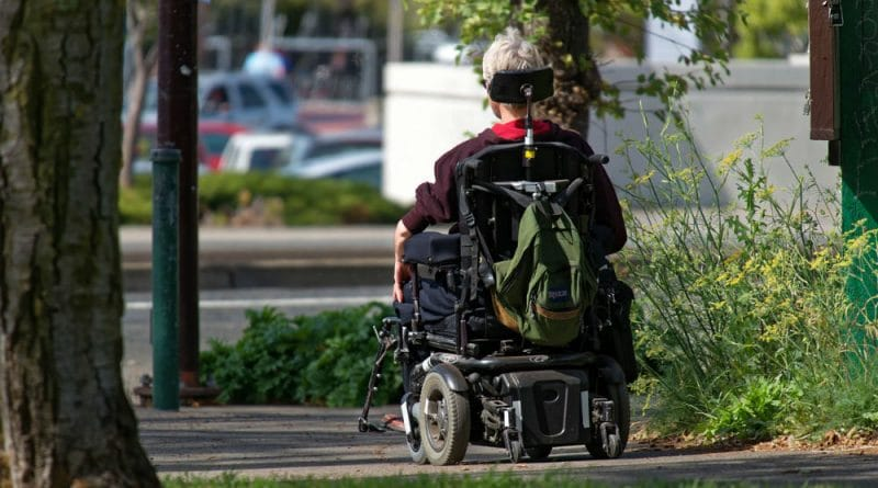 Motorized wheel chair - Free Thoughts Portal